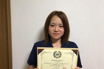 資格を取得し医療事務員として働いています!