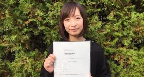 勉強が得意でない私でも、しっかりしたサポートで合格を勝ち取ることができました!