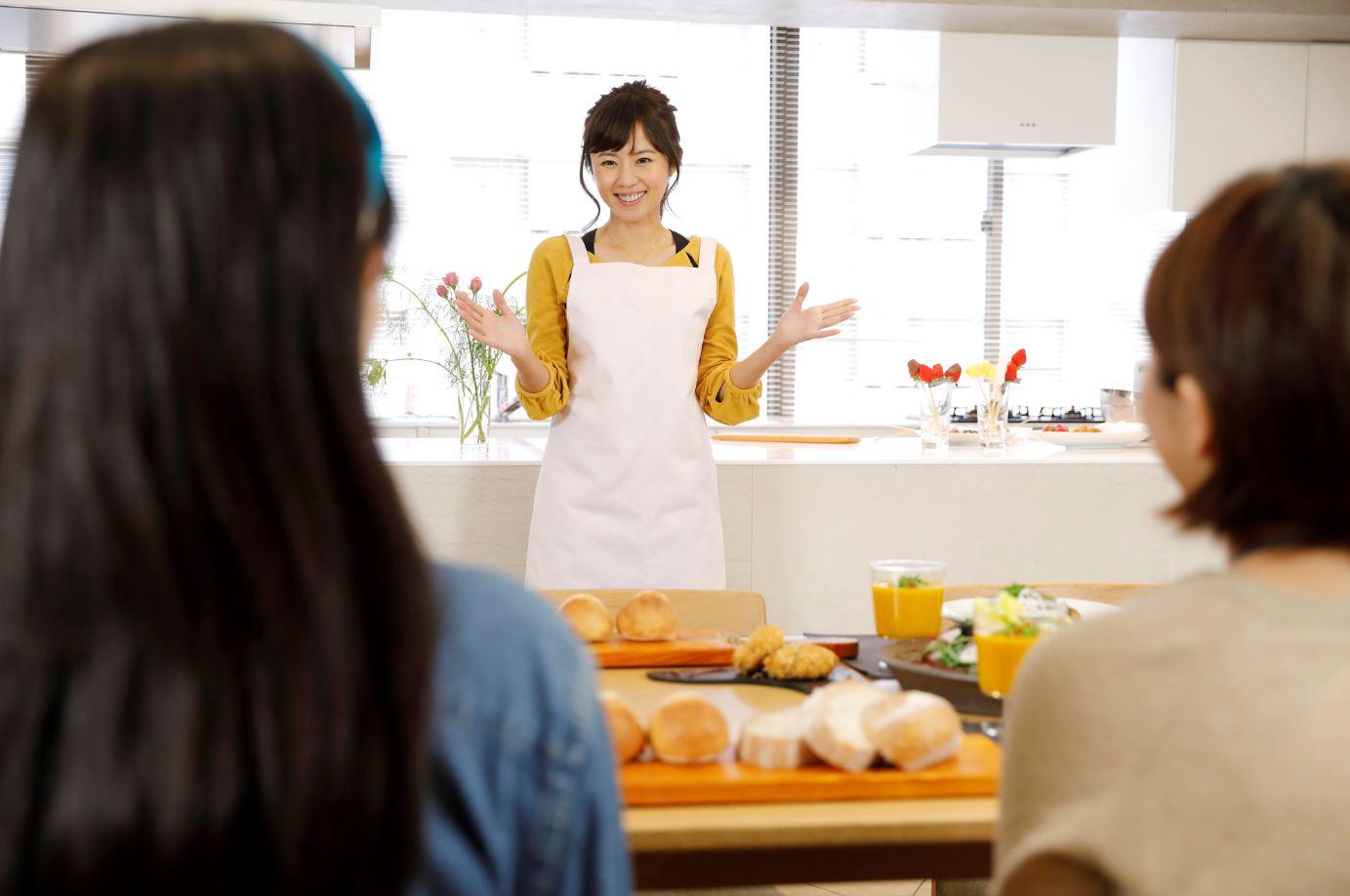 料理教室講師